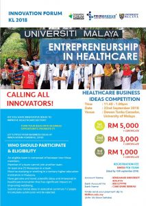 IFKL Business Idea Competition Flyer Page 1